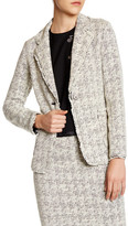 Nicole Miller Lux Tweed Blazer