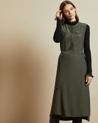 Ted Baker Utility Buckle Detail Dress