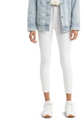 Levi's Women's Mile High Sculpt Button-Hem Super Skinny Jeans