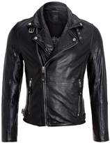 Gipsy Marlon Leather Jacket Schwarz