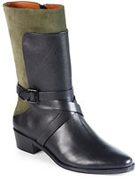 Rebecca Minkoff Sebas Leather & Suede Mid-Calf Boots