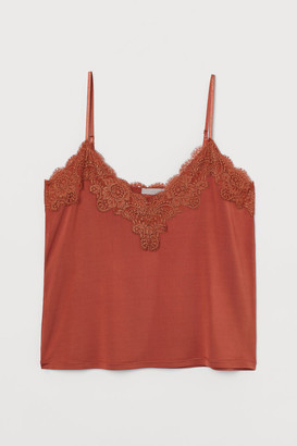 H&M Top with lace