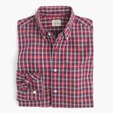J.Crew Slim Secret Wash shirt in chimney tartan
