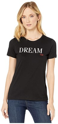 Lauren Ralph Lauren Dream Cotton-Blend Tee (Polo Black) Women's Clothing