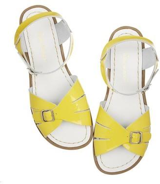 Sun-San - Salt Water Classic Premium Shiny Yellow Sandal - 4A-UK3A