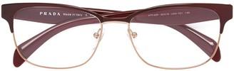 Prada Square Shaped Glasses