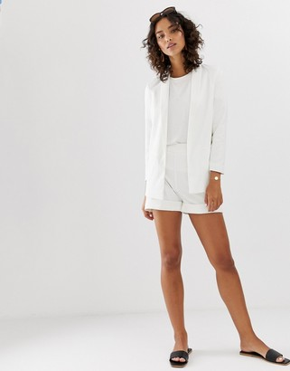 Vero Moda Aware tailored short in white