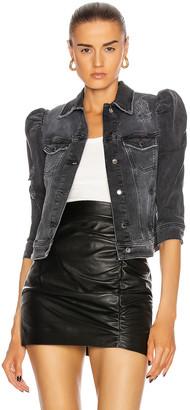 retrofete Ada Jacket in Faded Black | FWRD