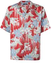 Christian Dada printed button shirt