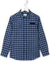 Fendi checked shirt