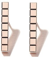 Chopard 18kt rose gold Ice Cube Pure earrings