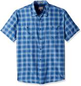 Quiksilver Waterman Men's Wake Uv Protection Button Down Shirt