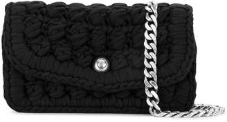 Bottega Veneta Crochet Shoulder Bag