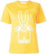 Peter Jensen rabbit print T-shirt