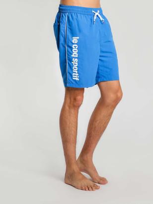 Le Coq Sportif Concurrent Shorts in Blue