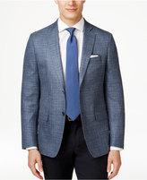 Lauren Ralph Lauren Men's Blue Checked Classic-Fit Sport Coat