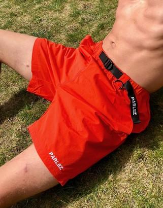 Parlez Vanguard adjustable shorts in coral
