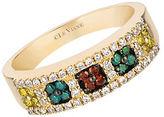 LeVian Exotics Multi-Color Diamond and 14K Honey Gold Ring