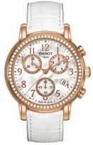 Tissot Women's 35mm Leather Band Steel Case Swiss Quartz Watch T0502173611201