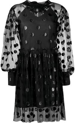 MSGM polka-dot tulle dress