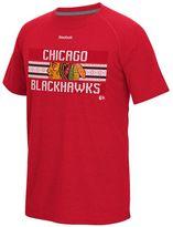 Reebok Men's Chicago Blackhawks Name in Lights Tee