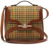 Gucci - Leather Trimmed Tweed Bag - Mens - Brown Multi