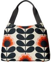 Orla Kiely Summer Flower Stem Classic Zip Shoulder Bag Shoulder Handbags
