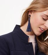 LOFT Stone Tassel Earrings