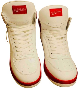 Louis Vuitton Montant Trainer White Leather Trainers