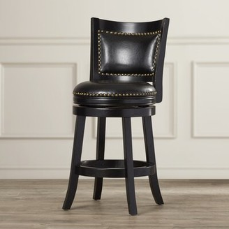 Darby Home Co Carstensen Bar & Counter Swivel Stool Darby Home Co