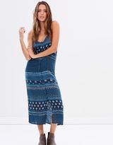 Rusty Zenith Midi Dress