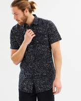 Quiksilver Mens Waxed Short Sleeve Shirt