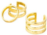 SUGARFIX by BaubleBar Trio Ring Set - Gold