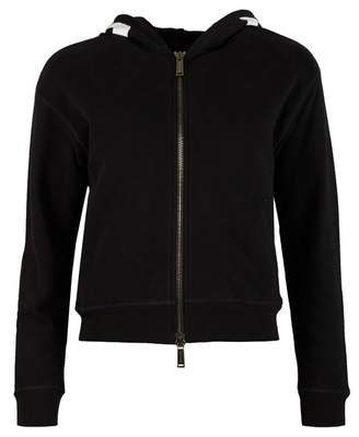 DSQUARED2 Logo Hood Hoody Colour: BLACK, Size: SMALL