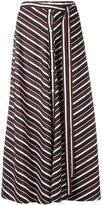 Nina Ricci buttoned midi skirt - women - Silk - 44