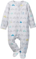 Angel Dear Busy City Print Footed Jumpsuit (Baby Boys)
