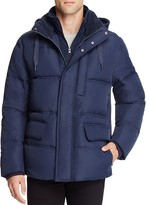 Andrew Marc Vinalhaven Hooded Layered Down Jacket