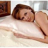 DreamSacks - Silk Bedding King Charmeuse Silk Pillowcases Chocolate