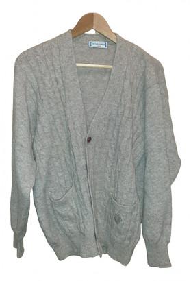 Saint Laurent Beige Wool Knitwear