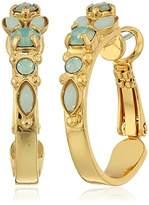 Sorrelli Mini Assorted Crystal Hoop Earrings