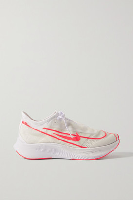 Nike Zoom Fly 3 Mesh Sneakers - White