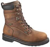 """Wolverine Men's Brek Durashocks WP 8"""" Steel Toe EH Boot"""
