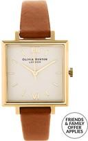 Olivia Burton Big Square Dial Watch