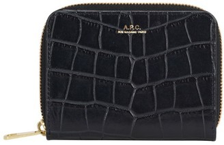 A.P.C. Emmanuelle crocodile purse