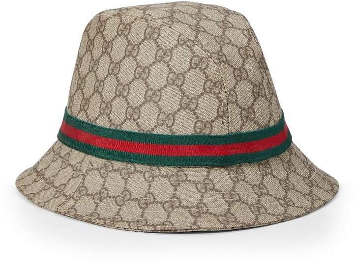 2bbc3f998 Original GG Supreme Canvas Bucket Hat