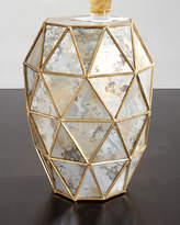 Bernhardt Zora Mirrored Hexagon End Table
