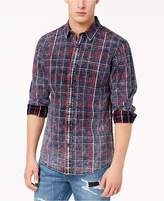 American Rag Men's Faded Luke Plaid Shirt, Created for Macy's