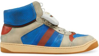 Gucci Screener leather high-top sneaker