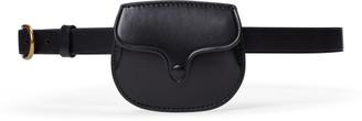 Ralph Lauren Smooth Leather Skinny Belt Bag