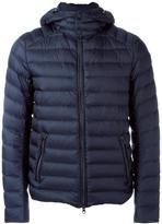 Hetregó zipped detachable hood jacket